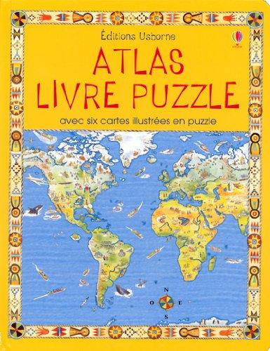 ATLAS -LIVRE PUZZLE: Colin King, Francoise Blits