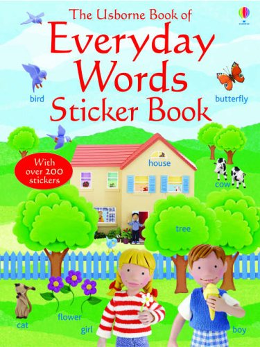 9780746066508: Everyday Words in English (Everyday Words Sticker Books)