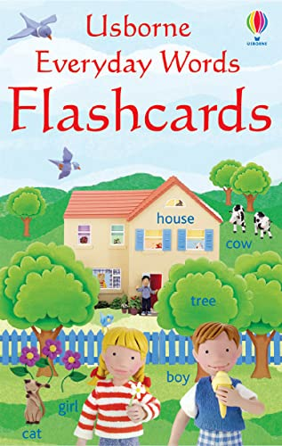 9780746066539: Everyday Words Flashcards (Usborne Everyday Words)