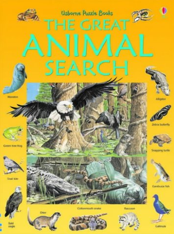 9780746067178: Great Animal Search (Usborne Great Searches)