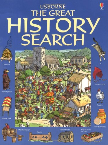 9780746067185: Great History Search (Usborne Great Searches)