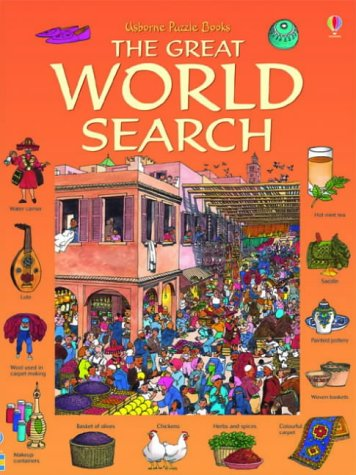 9780746067192: Great World Search (Usborne Great Searches)