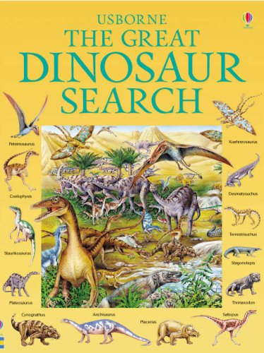9780746067734: The Great Dinosaur Search