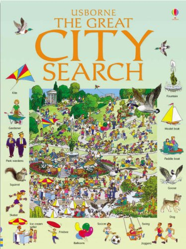 9780746067741: Great City Search (Great Searches)