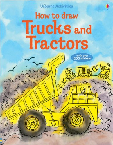 9780746067871: How to Draw Trucks and Tractors (Usborne Activities)