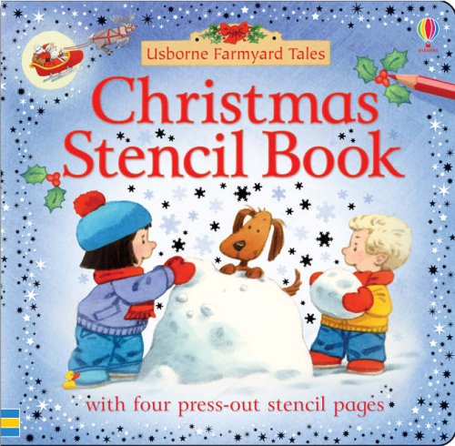 9780746067901: Farmyard Tales Christmas Stencil Book