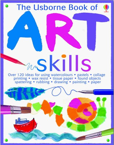 9780746068243: The Usborne Book of Art Skills: Miniature Edition (Usborne Art Ideas)