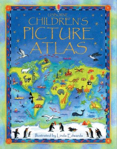 9780746068250: The Usborne Children's Picture Atlas: Miniature Edition