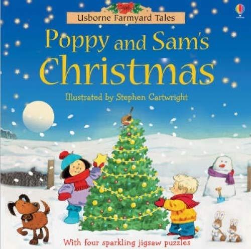 9780746069394: Farmyard Tales Chunky Jigsaw - Poppy and Sam's Christmas (Farmyard Tales)