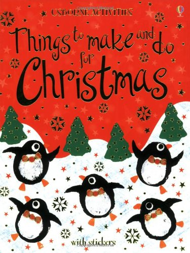 9780746069813: Things to make and do for Christmas (Usborne Activities)