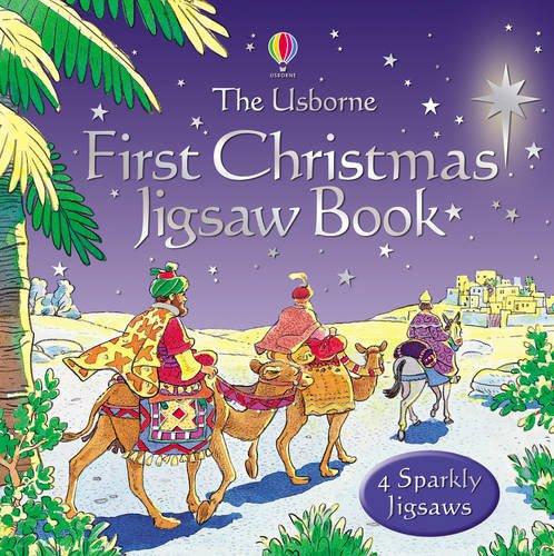 9780746069875: Usborne First Christmas Jigsaw Book