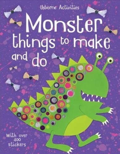 9780746069905: Monster Things to Make and Do (Usborne Activities)