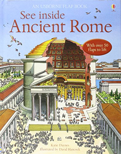 9780746070031: See Inside Ancient Rome (Usborne Flap Book)