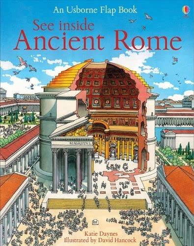 9780746070031: See inside ancient Rome (Storia illustrata)