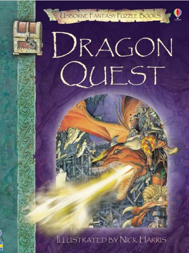 9780746070123: Dixon, A: Dragon Quest (Usborne Fantasy Adventure)