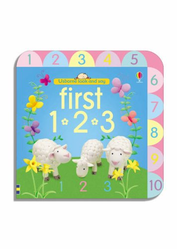 9780746070482: First 123 (Usborne Look and Say)