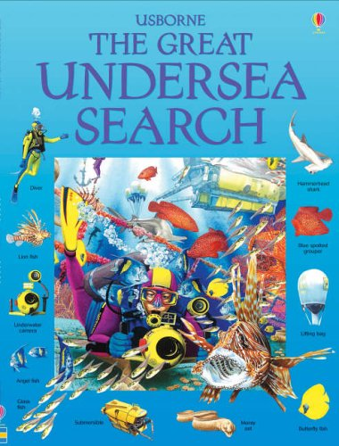 9780746070550: The Great Undersea Search (Usborne Great Searches)