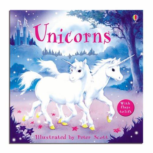9780746070772: Unicorns (Usborne Lift-the-Flap-Books)