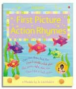 9780746071540: First Picture Action Rhymes (Usborne First Picture Books)