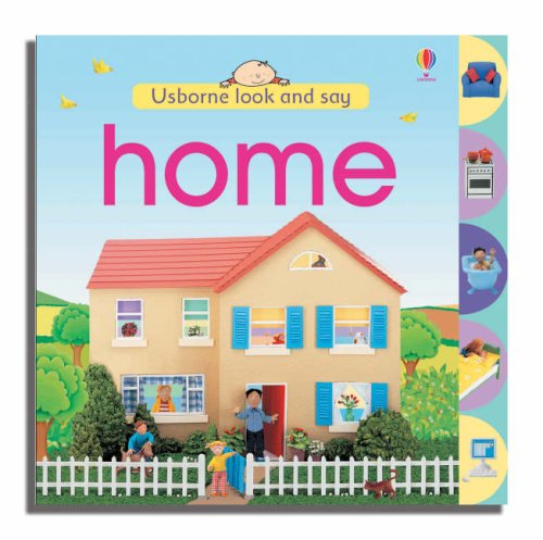 9780746071687: Home (Usborne Look and Say)