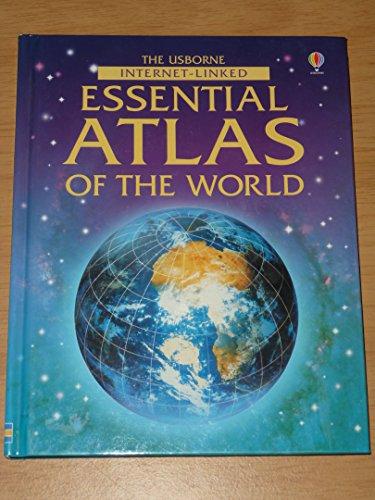 9780746072196: The Usbourne Internet Linked Essential Atlas Of The World