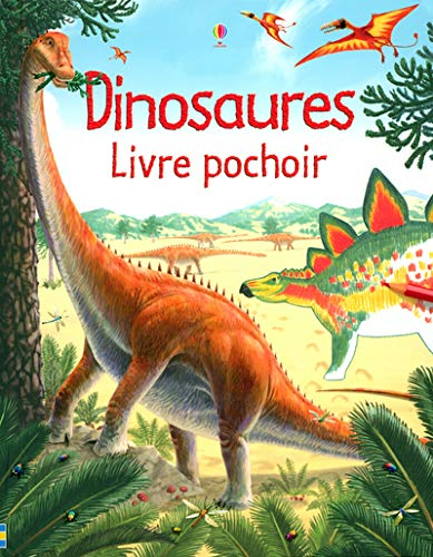 9780746072578: Dinosaures : Livre pochoir