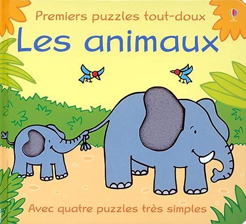 9780746072769: Les animaux (Premiers puzzles tout-doux)