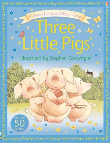 9780746073278: The Three Little Pigs (Usborne Sticker Stories)