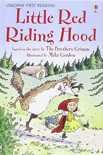 9780746073346: Little red riding hood: Level 4 (Usborne First Reading)