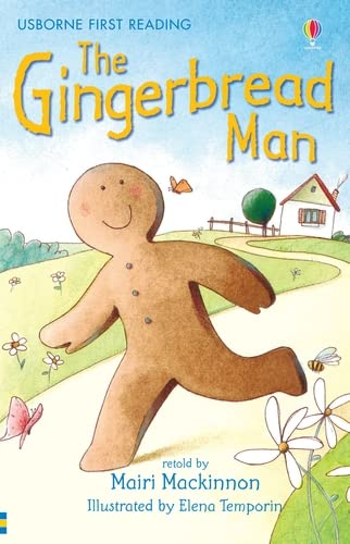 9780746073360: The Gingerbread Man (Usborne First Reading, Level 3)