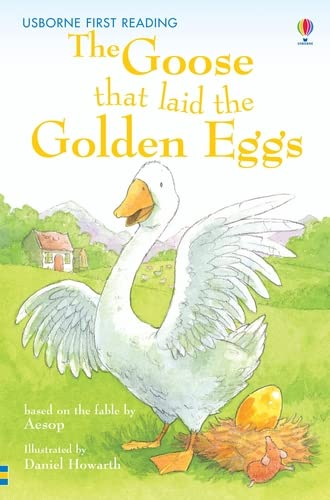 9780746073377: The Goose That Laid the Golden Egg: Level 3 (Usborne First Reading)