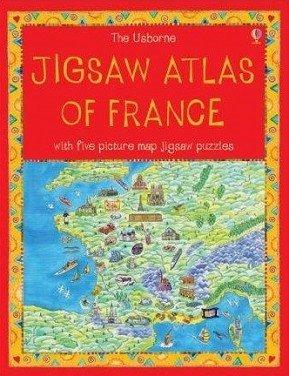 9780746073407: Jigsaw Atlas of France