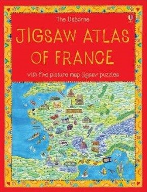 9780746073407: Jigsaw Atlas of France