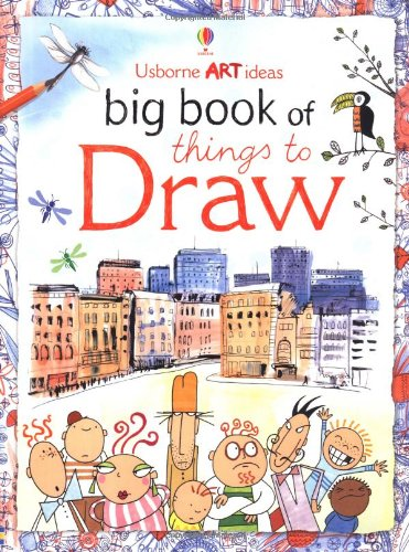 9780746073711: Big Book of Things to Draw (Usborne Activities)