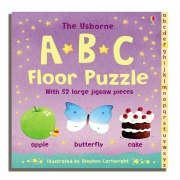 9780746073780: Usborne Abc Floor Puzzle (Jigsaw Book)