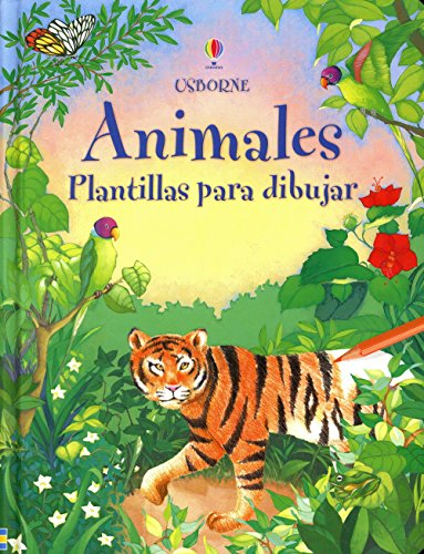 9780746074060: Animales - Plantillas Para Dibujar (Spanish Edition)