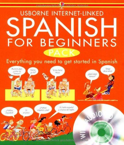 9780746074961: Spanish for beginners pack (Beginners Language CD Packs)