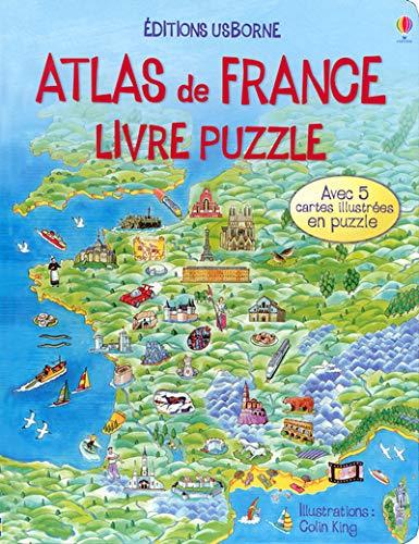 9780746075241: Atlas de France : Livre puzzle