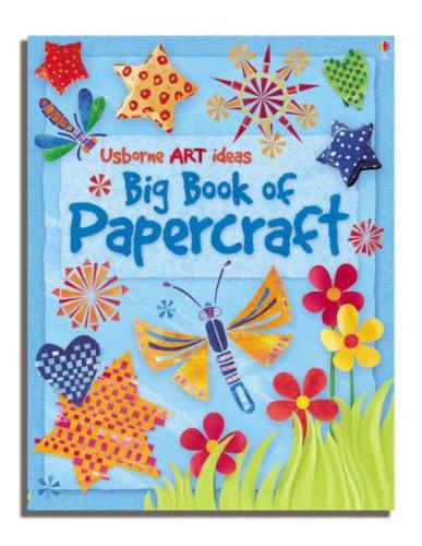9780746075500: Big Book of Papercraft (Usborne Activities)