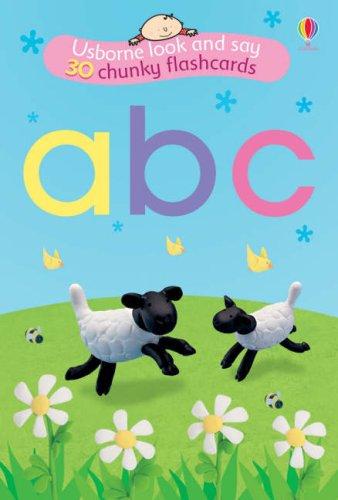 9780746075579: ABC Flashcards (Usborne Look and Say)