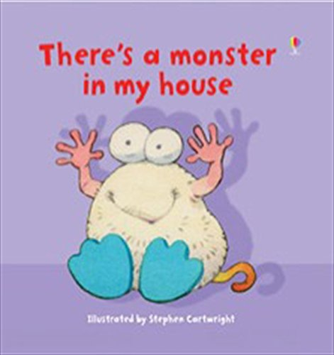 9780746075715: There's a Monster in My House (Usborne Lift-the-Flap-Books)