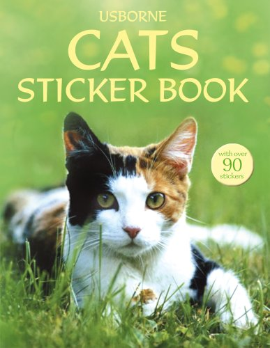 9780746076460: Cats (Usborne Sticker Books)