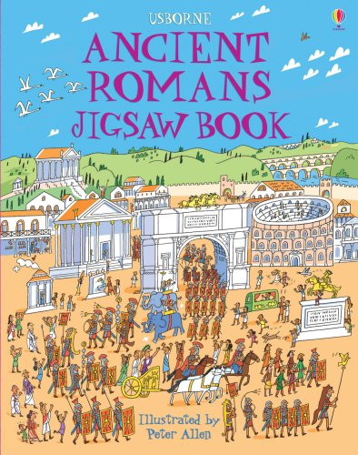 9780746077115: Ancient Romans Jigsaw Book (Usborne Jigsaw Books)