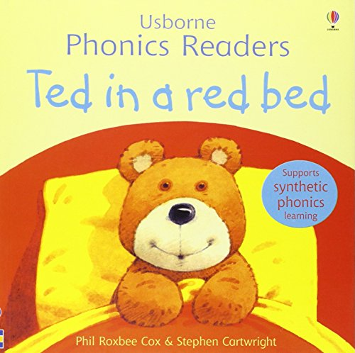9780746077177: Ted in a Red Bed (Usborne Phonics Readers)