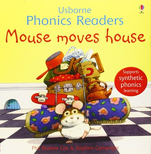 9780746077252: Mouse Moves House (Phonics Readers) (Usborne Phonics Readers)