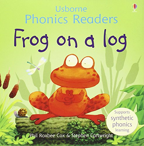 9780746077290: Frog on a Log (Usborne Phonics Readers)