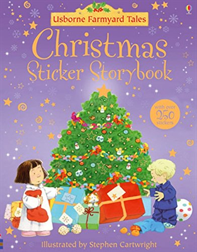 9780746077320: Christmas Stickerbook (Farmyard Tales)