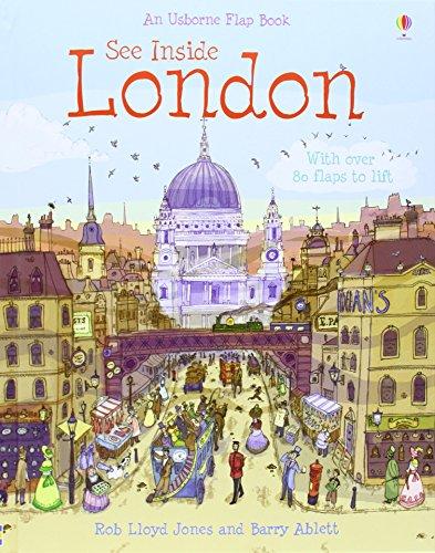 London (See Inside) (Usborne See Inside): Rob Lloyd Jones