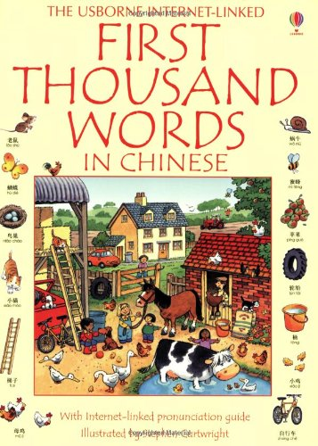 9780746077627: The Usborne Internet-Linked: First Thousand Words in Chinese