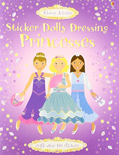 9780746077856: Sticker Dolly Dressing. Princesses